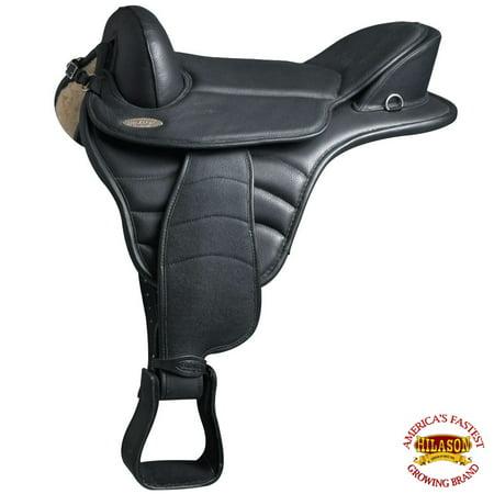 14 Hilason English Treeless  Horse Saddle Endurance Trail Pleasure