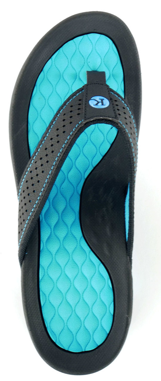 Sport Flip Flop With Tough Tread Women/'s Kaiback Lakeside Sandal