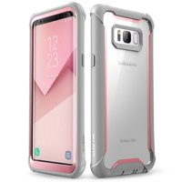 Samsung Galaxy S8 case, i-Blason [Ares] Rugged Clear Bumper Case With Built-in Screen Protector for S8 2017 (Black)