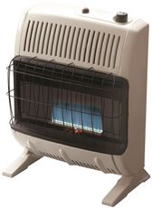 Heatstar Vent-Free Blue Flame Thermostat Control Natural Gas Heater, Off-White, 20K Btu* by Heatstar