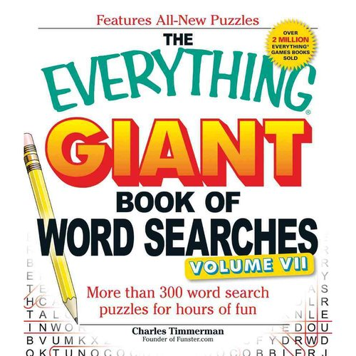 The Everything Giant Book of Word Searches: More Than 300 Word Search Puzzles for Hours of Fun
