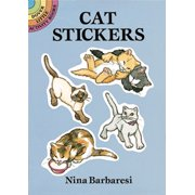 Dover Publications Cat Stickers