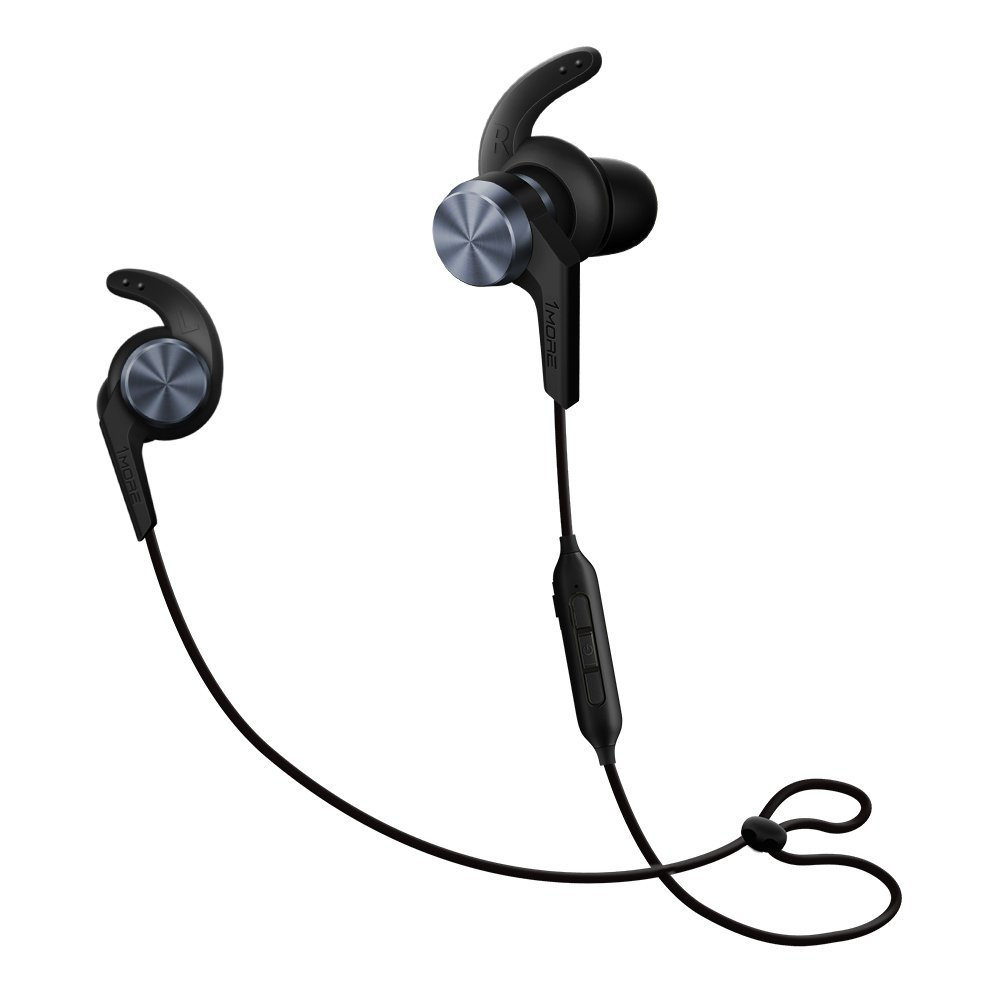 Image of 1MORE iBFree Bluetooth In-Ear Wireless Sport Headphones (Earphones/Earbuds/Headset) with Apple iOS and Android Compatible Microphone and Remote (Space Gray)