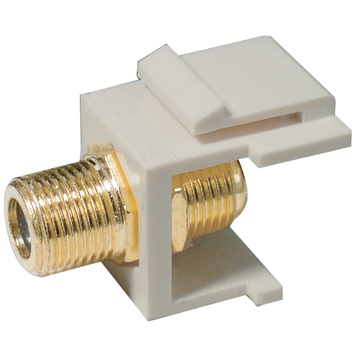 Axis Communications F Connector Modular Inserts in Almond