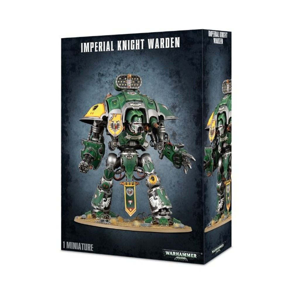Imperial Knight Warden Warhammer 40,000 Plastic Model Set by Games Workshop