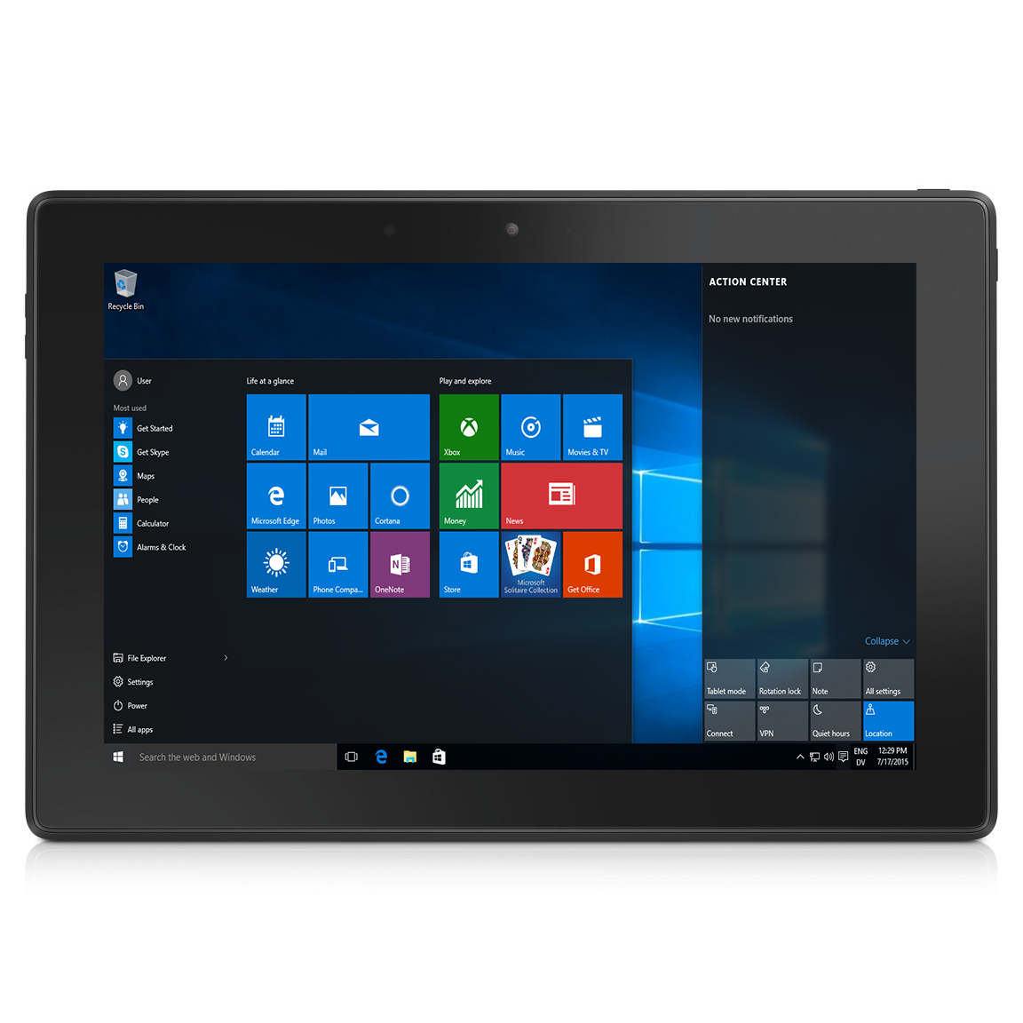 "Dell Venue 10 Pro 32GB 10.1"" Touchscreen Intel Quad-Core 1.33GHz WiFi Tablet"