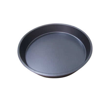 8 Inch/9 Inch Healthy Durable Shallow Pizza Pan Round Dish Non-Stick Pie Tray Kitchen Home Bakeware Carbon Steel 8 inch shallow tray
