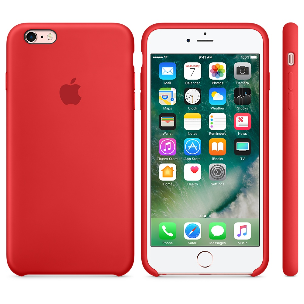 iphone 6s plus red case