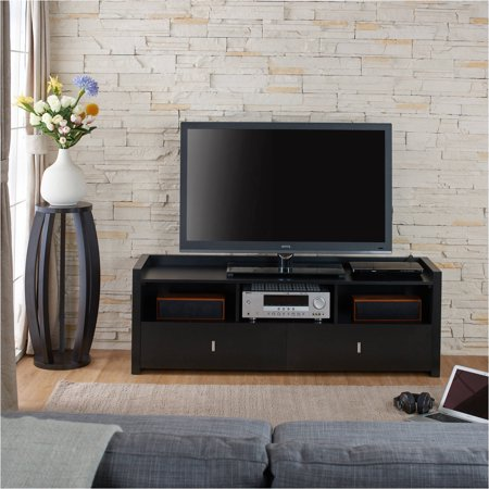 Furniture of America Eleanora Contemporary TV Stand for up to 72″, Multiple Colors