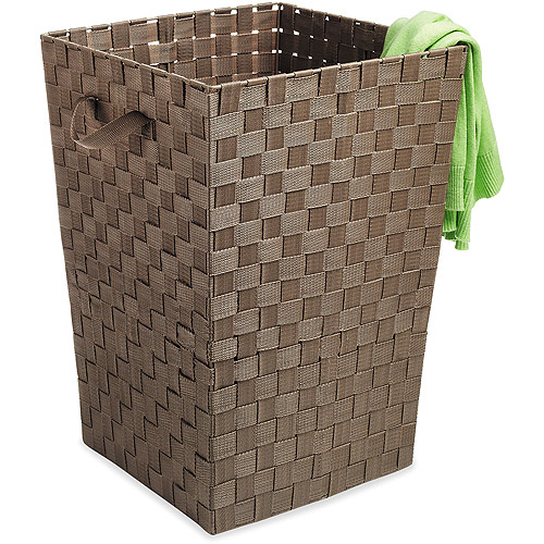 Whitmor Woven Strap Hamper, Java by Whitmor/Earle Industries