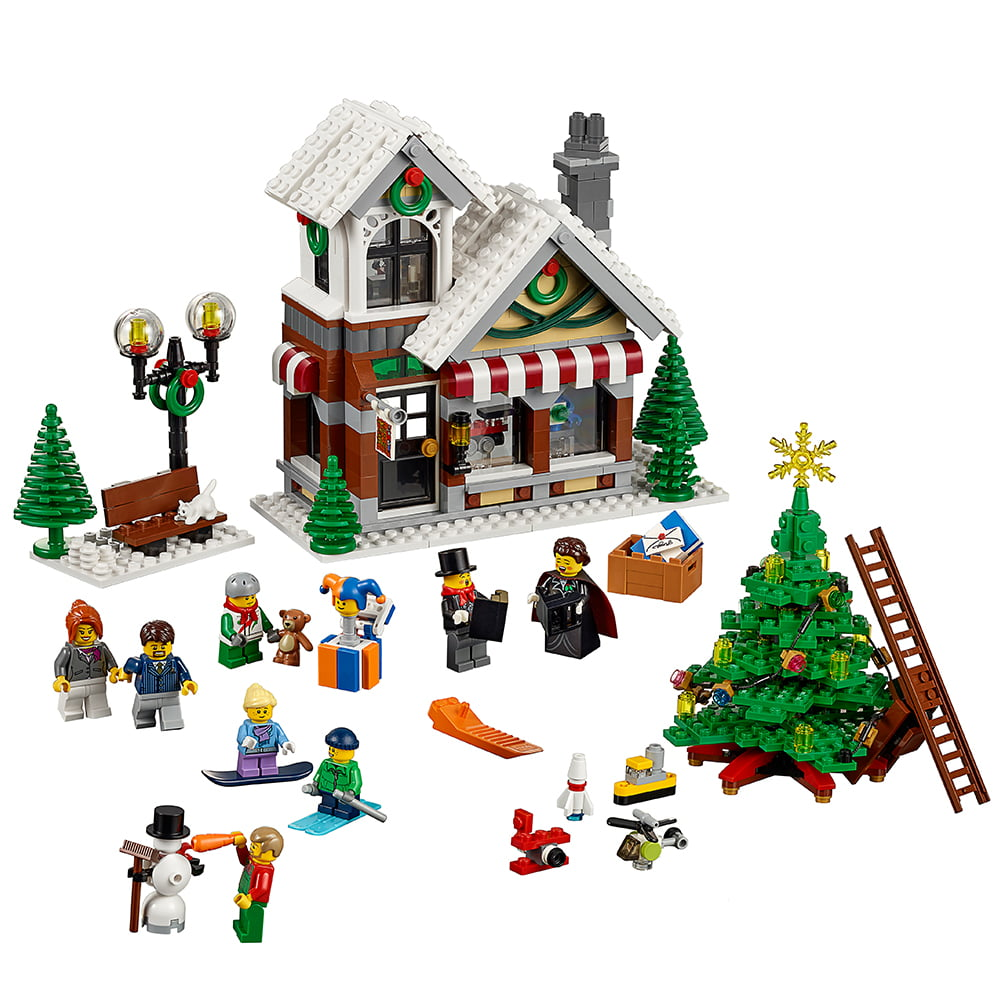 LEGO Creator Expert Winter Toy Shop 10249 - Walmart.com