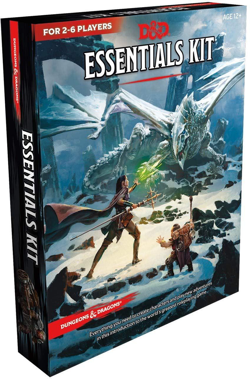 Dungeons Amp Dragons Essentials Kit D Amp D Boxed Set Walmart Com Walmart Com