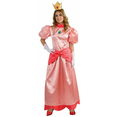 Deluxe Princess Peach Adult Costume - Plus Size](Plus Size Princess Costumes)