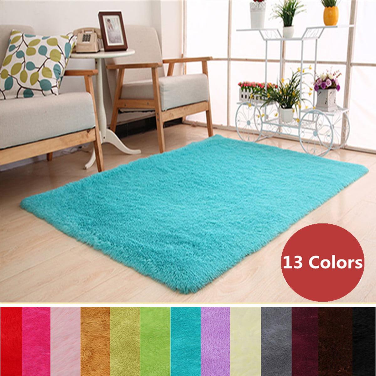 48x32 Inch Modern Soft Fluffy Floor Doormat Rug Anti Skid