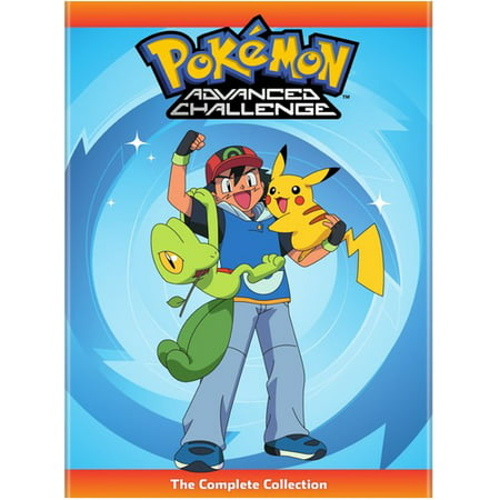 Pokemon Advanced Challenge  The Complete Collection  Dvd