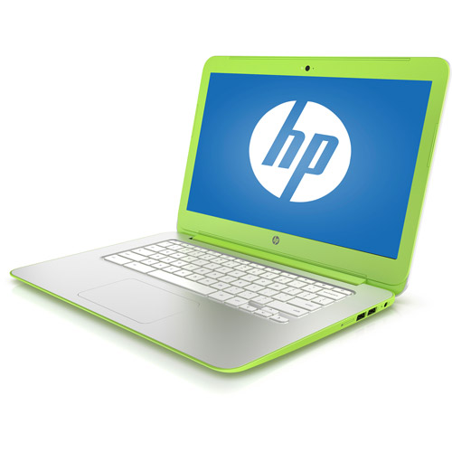 "Refurbished HP Neon Green 14"" 14-X015WM Chromebook PC with NVIDIA Tegra K1 Mobile Processor, 2GB Memory, 16GB eMMC and Chrome OS"