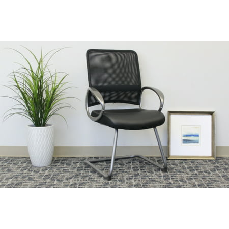Boss Office Products Black Guest Chair