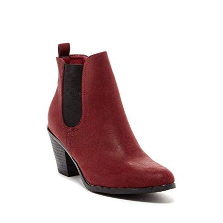 Bucco Women's Alanna Boot, Burgundy, 9 M US