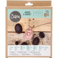 Sizzix Movers & Shapers Magnetic Die Set 7PK Ovals