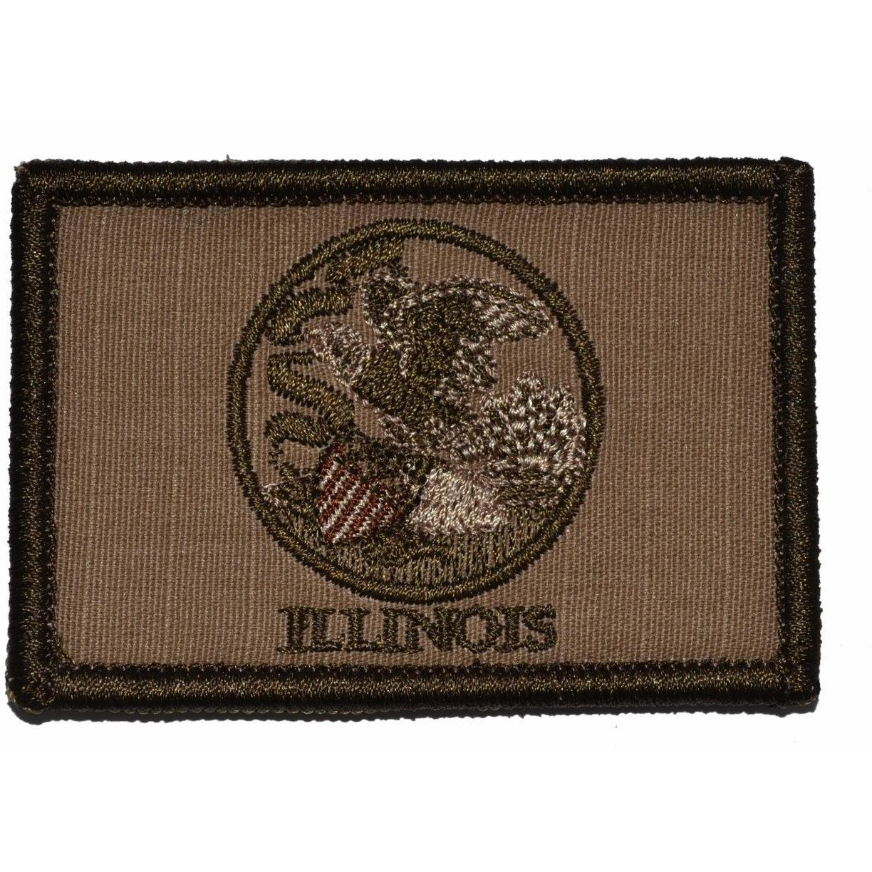 Illinois State Flag - 2x3 Patch