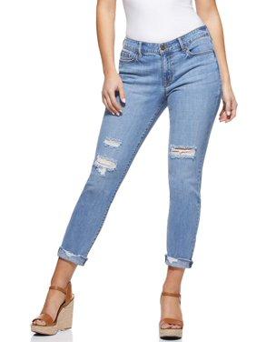 Sofia Jeans by Sofia Vergara Bagi Boyfriend Mid-Rise Jeans, Women's
