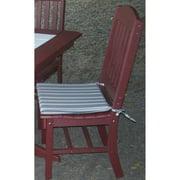 A & L Furniture Sundown Agora 19 x 17 in. Poly Dining Chair Seat Cushion