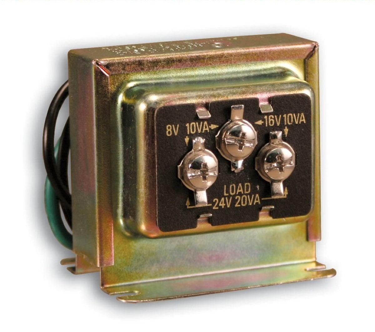 Sl 125 02 Wired Door Chime Transformer Low Voltage Hardwired Edwards Transformers Wiring Diagram By Heath Zenith
