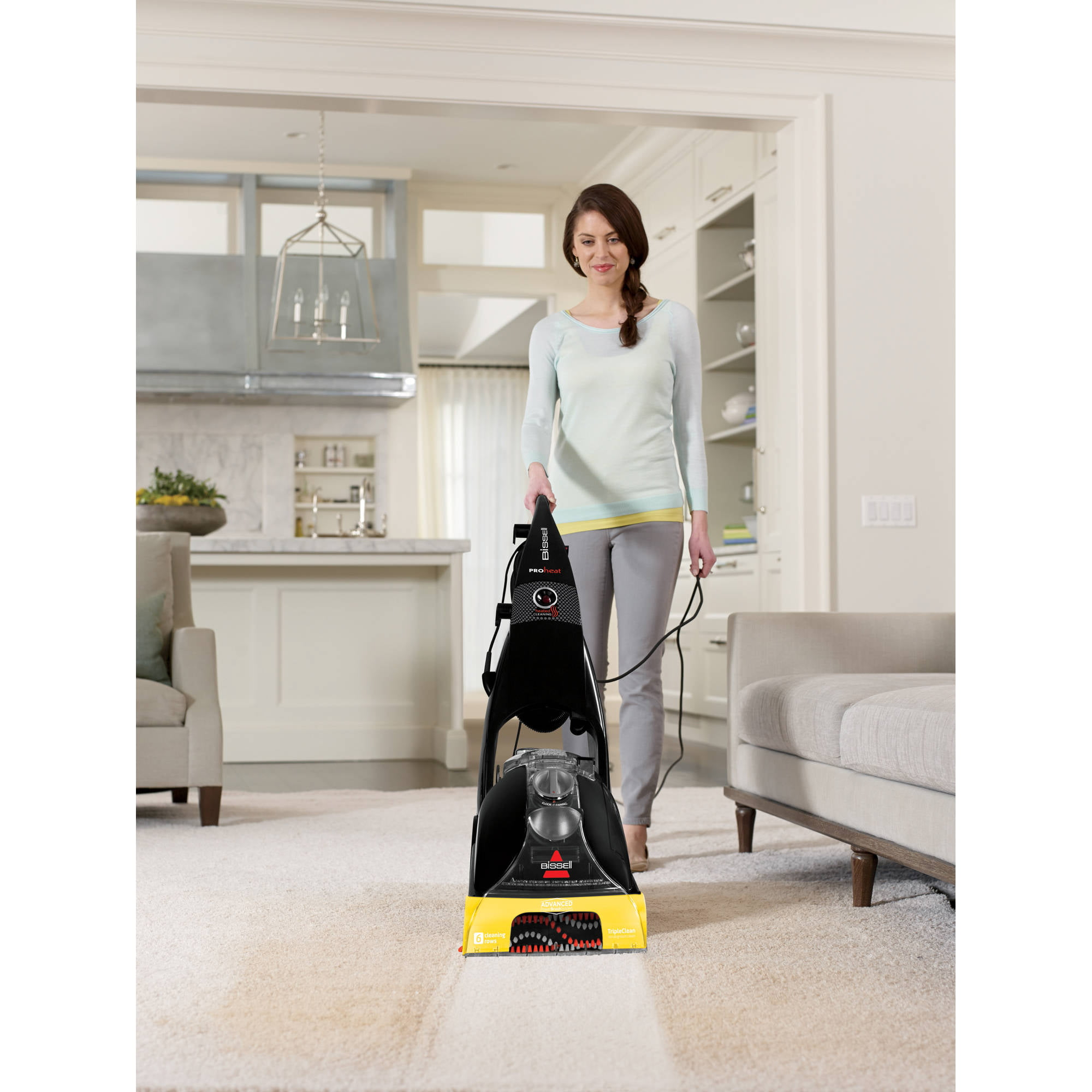 BISSELL Proheat Advanced Full Size Carpet Cleaner With Heatwave Technology,  1846   Walmart.com