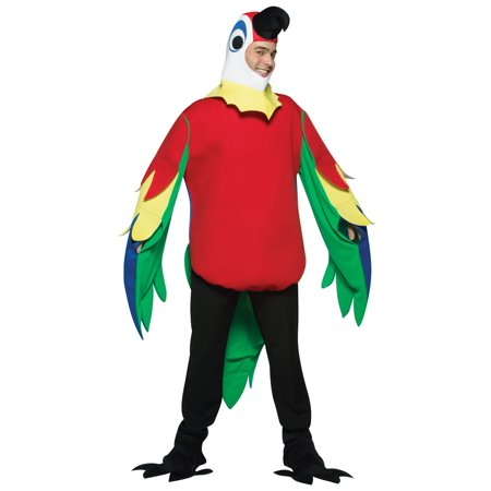Parrot Adult Halloween Costume - One - Infant Parrot Costume