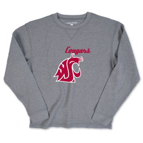 Washington State Cougars Kid's Fakie Thermal Shirt