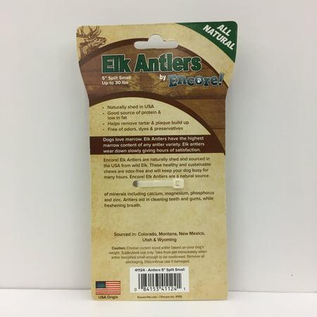 Encore Antlers 5  Split Treat For Dogs  Each