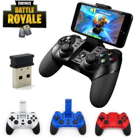 Mfm Controller (FORTNITE Controller Professional NINJA Gaming Joystick Remote Mobile Wireless-black )