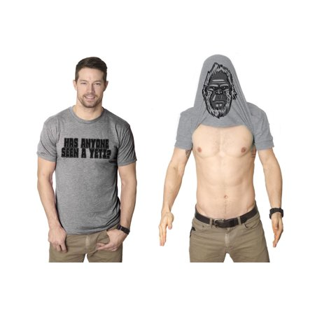 Has Anyone Seen A Yeti? Turn Into A Yet Flip T Shirt Awesome Costume Tee