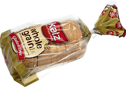 Katz Gluten Free Whole Grain Bread, 21 Ounce, (1 Pack) by Katz Gluten Free