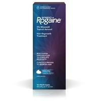 Women's Rogaine 5% Minoxidil Foam for Hair Regrowth, 2-Month Supply