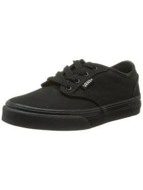 e010b2d812 Product Image VANS Atwood Black Black Canvas Shoes Girls Boys Youth Big Kids