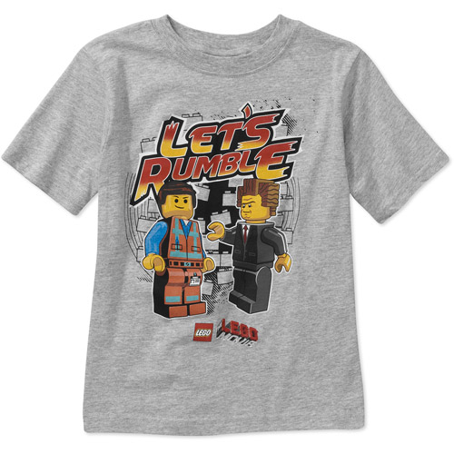 The LEGO Movie Boys Let's Rumble Graphic Tee