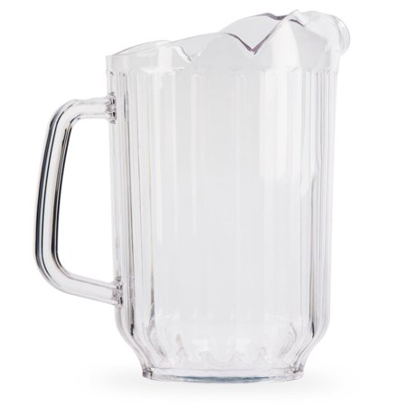 Plastic Beer or Water Pitcher with 3 Pour Spouts - 60