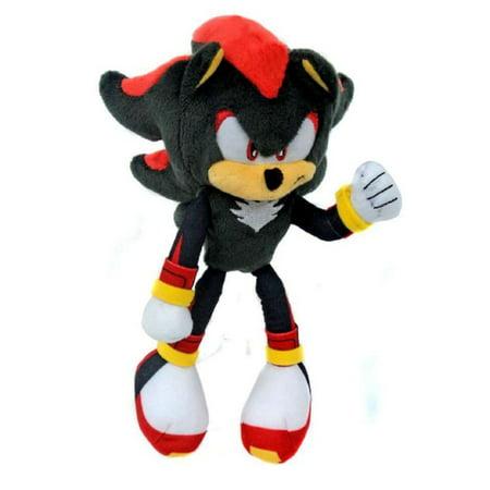 Plush Toy - Sonic the Hedgehog - Modern Shadow - 8 Inch (Girl Hedgehog From Sonic)
