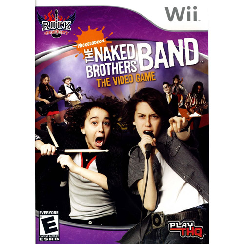 The Naked Brothers Band: The Video Game [Rock University Presents, Nickelodeon]