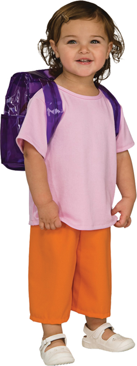 Morris costumes RU883167SM Dora Deluxe Child Small by Morris Cotumes