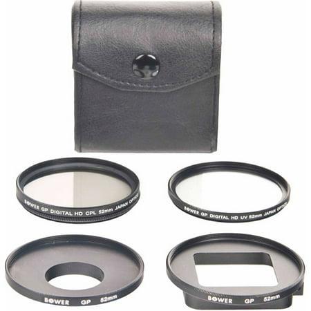 5-Piece Filter Kit for GoPro Hero 3+ (UV, (Uv Filter 3)