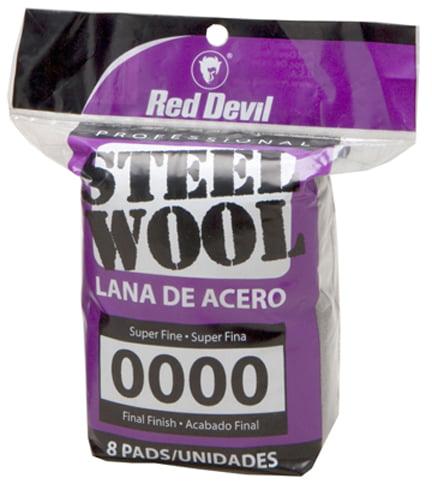 Red Devil 0323 #0 Steel Wool 8 Pack