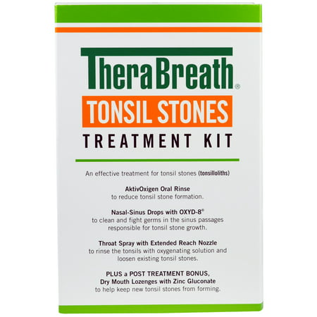 TheraBreath Tonsil Stones Treatment Kit 5 Piece Kit