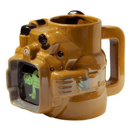 Fallout Pip Boy Ceramic Mug|45 OZ| Fallout Collector's Edition