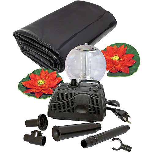 Koolscape 270 gal Liner Pond Kit with Solar Light by Generic