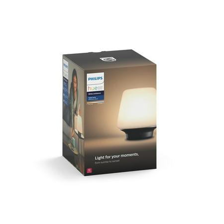 Philips Hue Wellness White Ambiance Smart Table Lamp Hub