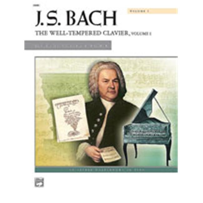 Alfred 00-2098C The Well-Tempered Clavier- Volume I - Music Book