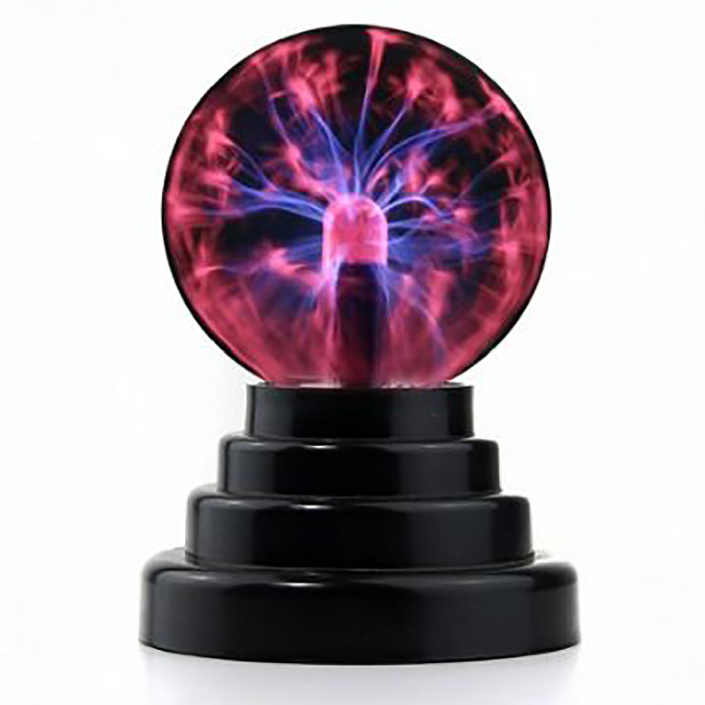 HDE Plasma Ball Lamp Light [Touch Sensitive] Nebula Sphere Globe Novelty Toy USB or Battery Powered by HDE