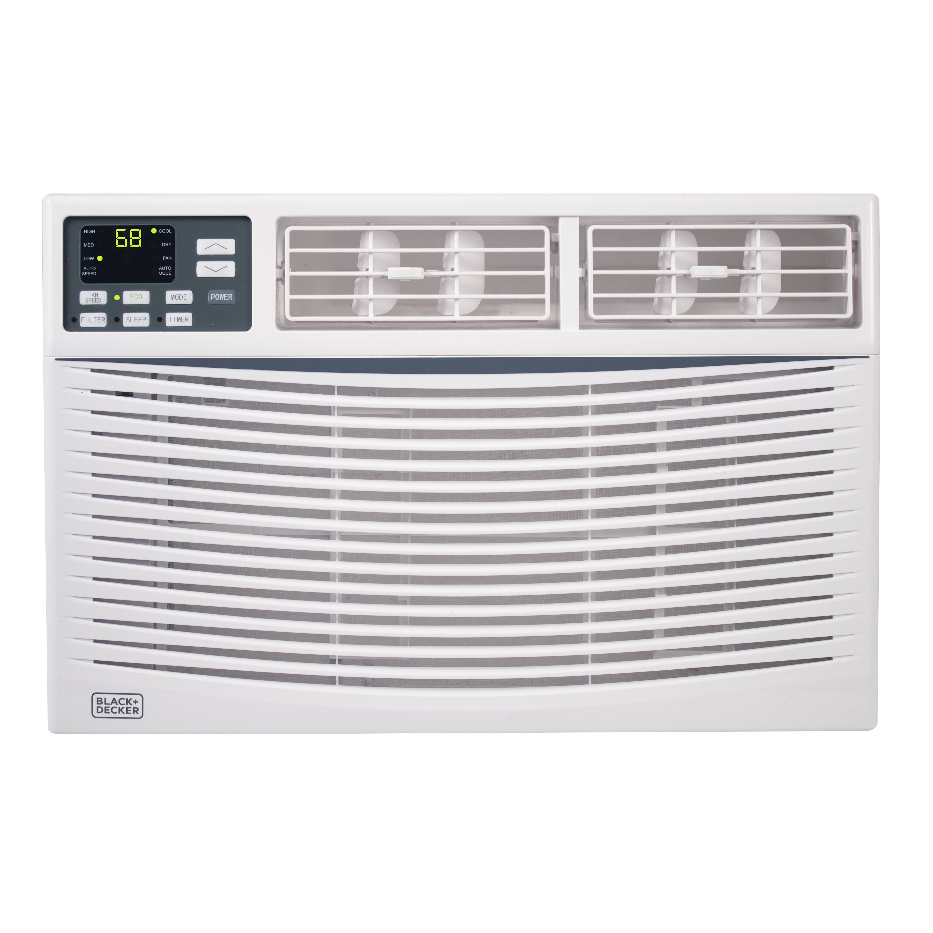 BLACK+DECKER 10,000 BTU ENERGY STAR Electronic Window Air Conditioner with Remote Control